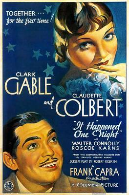 Royalty-Free and Rights-Managed Images - It Happened One Night, 1934 - b by Stars on Art