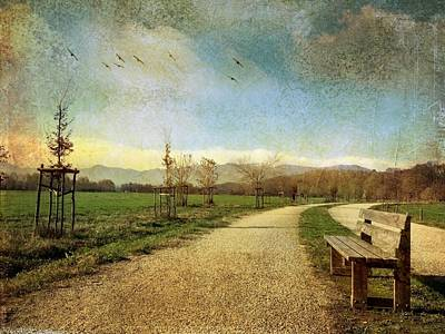 Photograph - Italian landscape by Cosmina Lefanto
