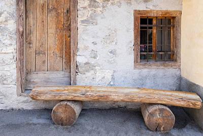 Classic Golf - Italian Old Wood Door by Norma Brandsberg