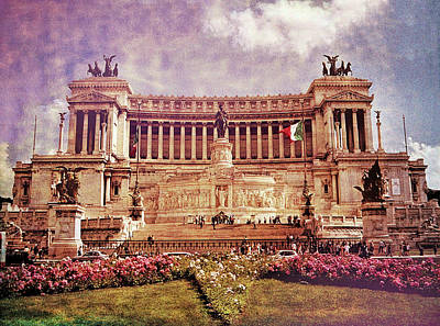 Sean Rights Managed Images - Italys Tomb of the Unknown Soldier Royalty-Free Image by Allen Beatty