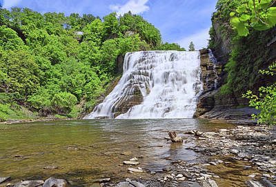 Pittsburgh According To Ron Magnes - Ithaca Falls - Ithaca, N. Y. by Allen Beatty