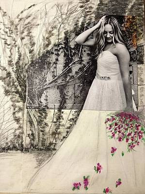 Mixed Media - Its-All-About-The-Dress by Karin Palminteri