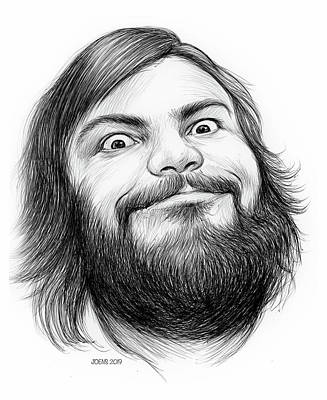Royalty-Free and Rights-Managed Images - Jack Black by Greg Joens