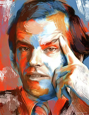 Royalty-Free and Rights-Managed Images - Jack Nicholson 3 by Stars on Art