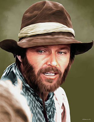 Royalty-Free and Rights-Managed Images - Jack Nicholson illustration by Stars on Art