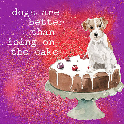 Royalty-Free and Rights-Managed Images - Jack Russell Takes the Cake by Brandi Fitzgerald