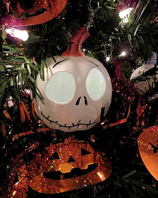 Animals Royalty-Free and Rights-Managed Images - Jack Skellington by Jennifer Wheatley Wolf