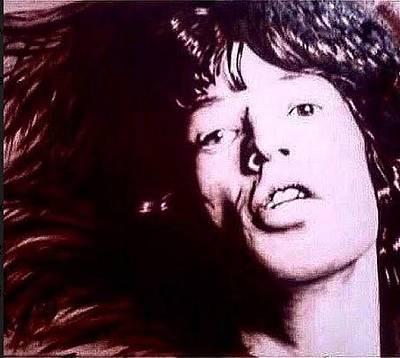 Painting - Jagger by David Rhys