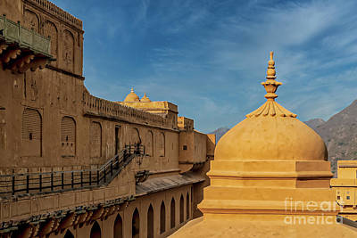 Art History Meets Fashion - Jaigarh Fort - India Architecture by RC- Photography LLC