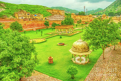 Royalty-Free and Rights-Managed Images - Jaipur Garden Colors by Stefano Senise