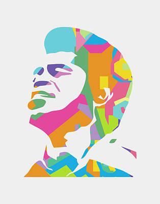 Musicians Royalty Free Images - James Brown 1 POP ART Royalty-Free Image by Ahmad Nusyirwan