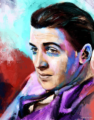 Stone Cold - James Stewart painting by Stars on Art