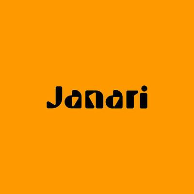 Digital Art - Janari by TintoDesigns