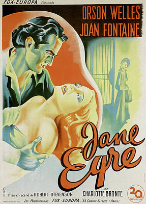 Bringing The Outdoors In - Jane Eyre - 1944 by Stars on Art