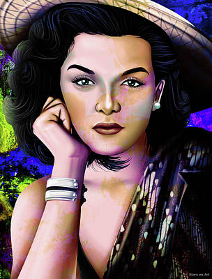 Stone Cold - Jane Russell illustration by Stars on Art
