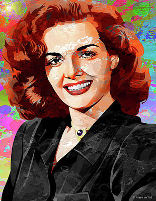 Pop Art Rights Managed Images - Jane Russell Royalty-Free Image by Stars on Art