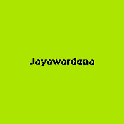 Royalty-Free and Rights-Managed Images - Jayawardena by TintoDesigns