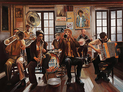 Royalty-Free and Rights-Managed Images - jazz for S by Guido Borelli