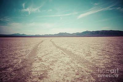 Photograph - Jean Dry Lake Bed -  Las Vegas by Bryan Mullennix