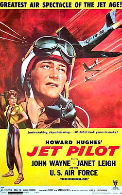 Royalty-Free and Rights-Managed Images - Jet Pilot - 1957 by Stars on Art