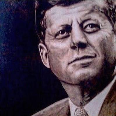 Painting - JFK by David Rhys