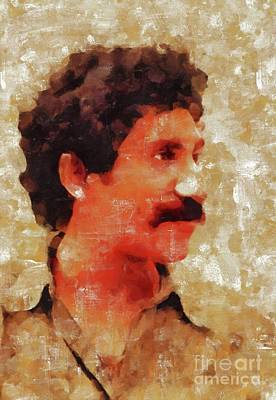 Olympic Sports - Jim Croce, Music Legend by Esoterica Art Agency