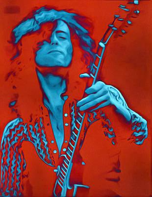 Safari - Jimmy Page by Galeria Trompiz