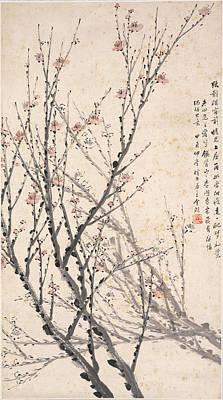 Modern Kitchen - JIN XINLAN 1841 1909 Plum Blossoms by Arpina Shop