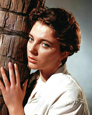 Caravaggio - Joan Collins in Sea Wife 1957 by Stars on Art