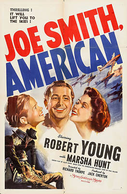 Mixed Media Royalty Free Images - Joe Smith, American, with Robert Young, 1942 Royalty-Free Image by Stars on Art