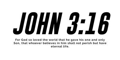Mixed Media Royalty Free Images - John 3 16 - Minimal Bible Verses 1 - Christian - Bible Quote Poster - Scripture, Spiritual, Faith Royalty-Free Image by Studio Grafiikka