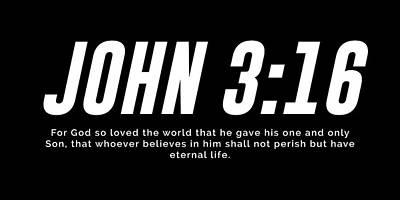 Mixed Media Royalty Free Images - John 3 16 - Minimal Bible Verses 2 - Christian - Bible Quote Poster - Scripture, Spiritual, Faith Royalty-Free Image by Studio Grafiikka
