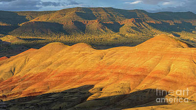 Photograph - John Day Fossil Beds, Oregon 2 by Henk Meijer Photography