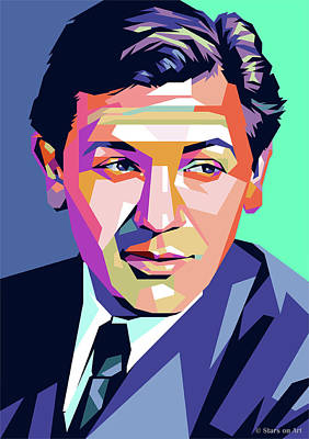 Gambling Royalty Free Images - John Garfield Royalty-Free Image by Stars on Art