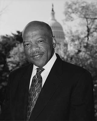 Polaroid Camera - John Lewis Official Congressional Portrait - 2003 by War Is Hell Store