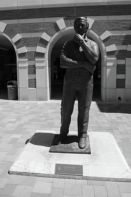 Lake Life - John McKay Statue USC by John McGraw