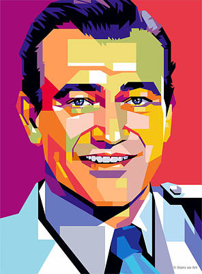 Royalty-Free and Rights-Managed Images - John Wayne by Stars on Art