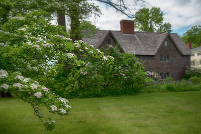 Modern Man Surf - John Whipple House in Spring - Ipswich, MA by Joann Vitali