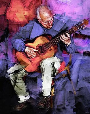 Sheep - John Williams Guitar Player by Mal Bray