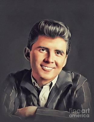 Music Paintings - Johnny Tillotson, Music Legend by John Springfield