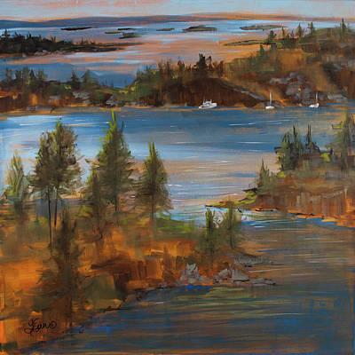 Painting - Johns Bay by Terri Einer