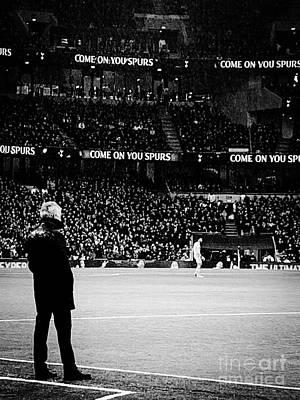 Red Roses - Jose Mourinho, Tottenham Hotspurs by Janan Yakula