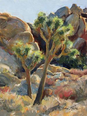 Painting - Joshua Tree Study by Anna Bain