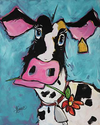 Painting - Josie by Terri Einer