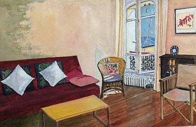 Still Life Drawings - Jourdain , an afternoon by Tina So