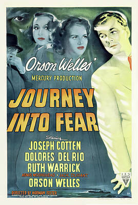 Royalty-Free and Rights-Managed Images - Journey Into Fear, 1943 by Stars on Art
