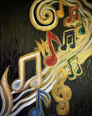 Painting - Joy of Music by Michelle Pier