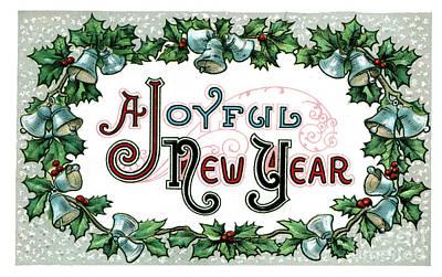Claude Monet - Joyful New Year by Pete Klinger
