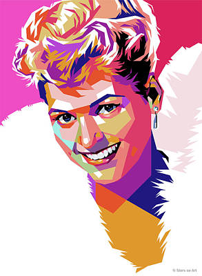 Pop Art Rights Managed Images - Judy Holliday Royalty-Free Image by Stars on Art