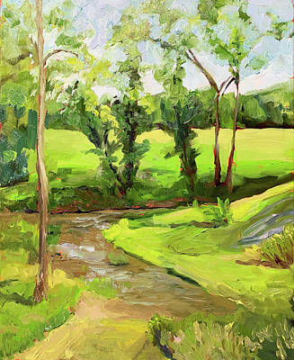 Painting - June by Bart Levy